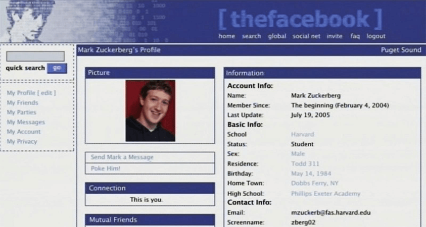 """The Facebook"" Launched By Mark Zuckerberg"